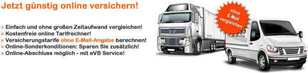 Lkw Versicherung über 3,5 t Werkverkehr